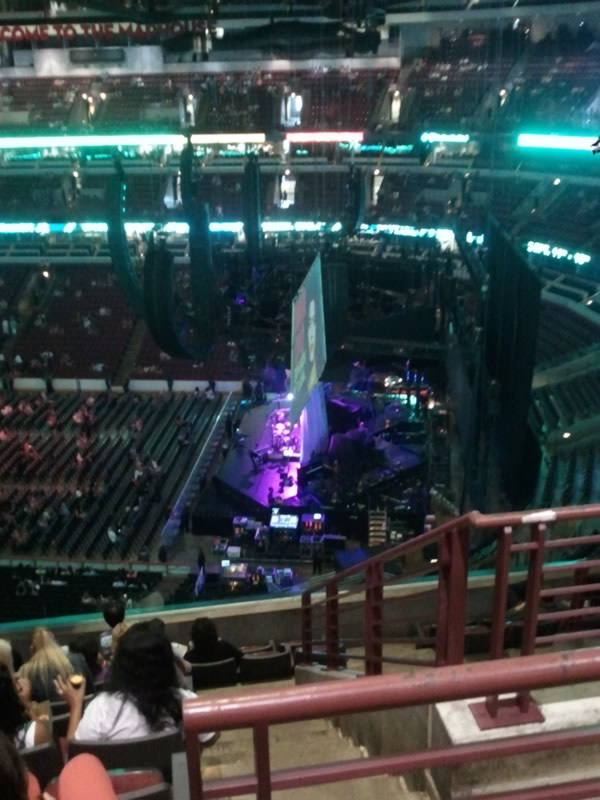United Center Section 332 Concert Seating