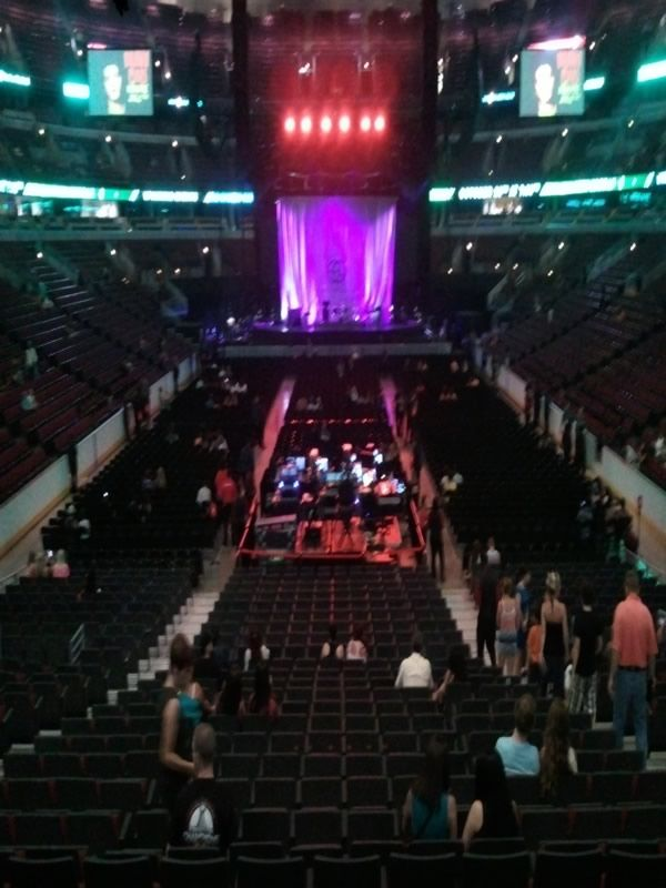 Directly Facing the Middle of the Stage: United Center ...
