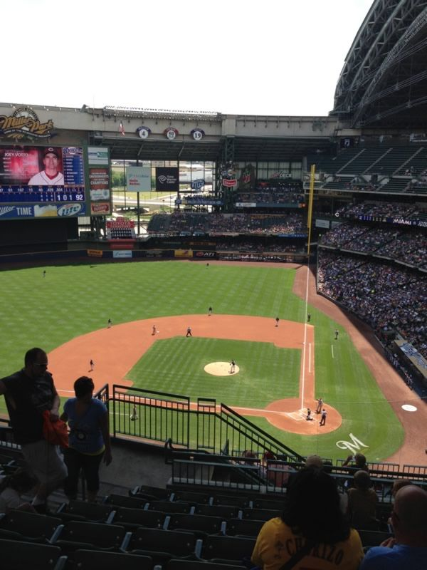 Miller Park Section 426 Rateyourseats Com