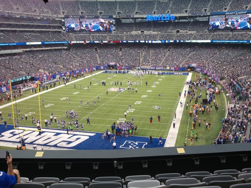 MetLife Stadium Section 223 - Giants/Jets - RateYourSeats.com