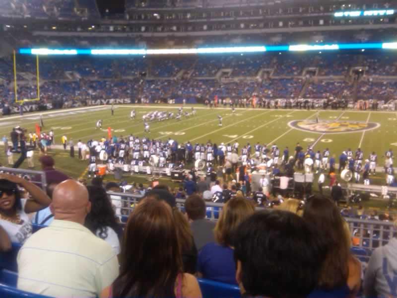 M Amp T Bank Stadium Section 126 Baltimore Ravens Rateyourseats Com