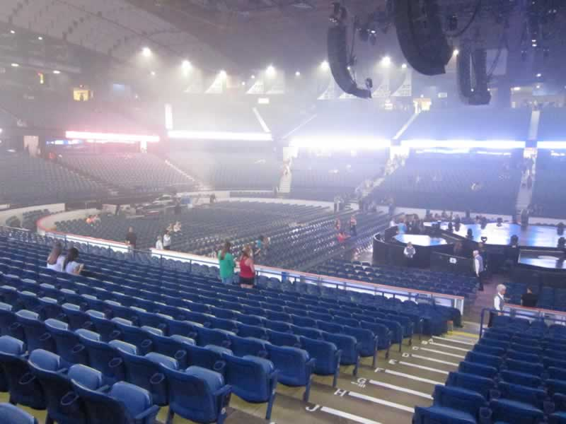 Allstate Arena Section 111 Concert Seating Rateyourseats Com