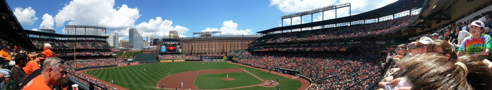 Baltimore Orioles Seating Guide Oriole Park