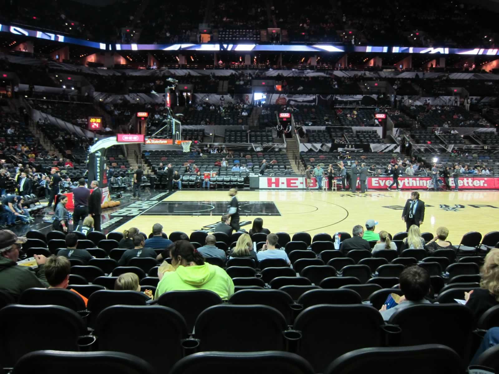 At Amp T Center Section 24 San Antonio Spurs Rateyourseats Com