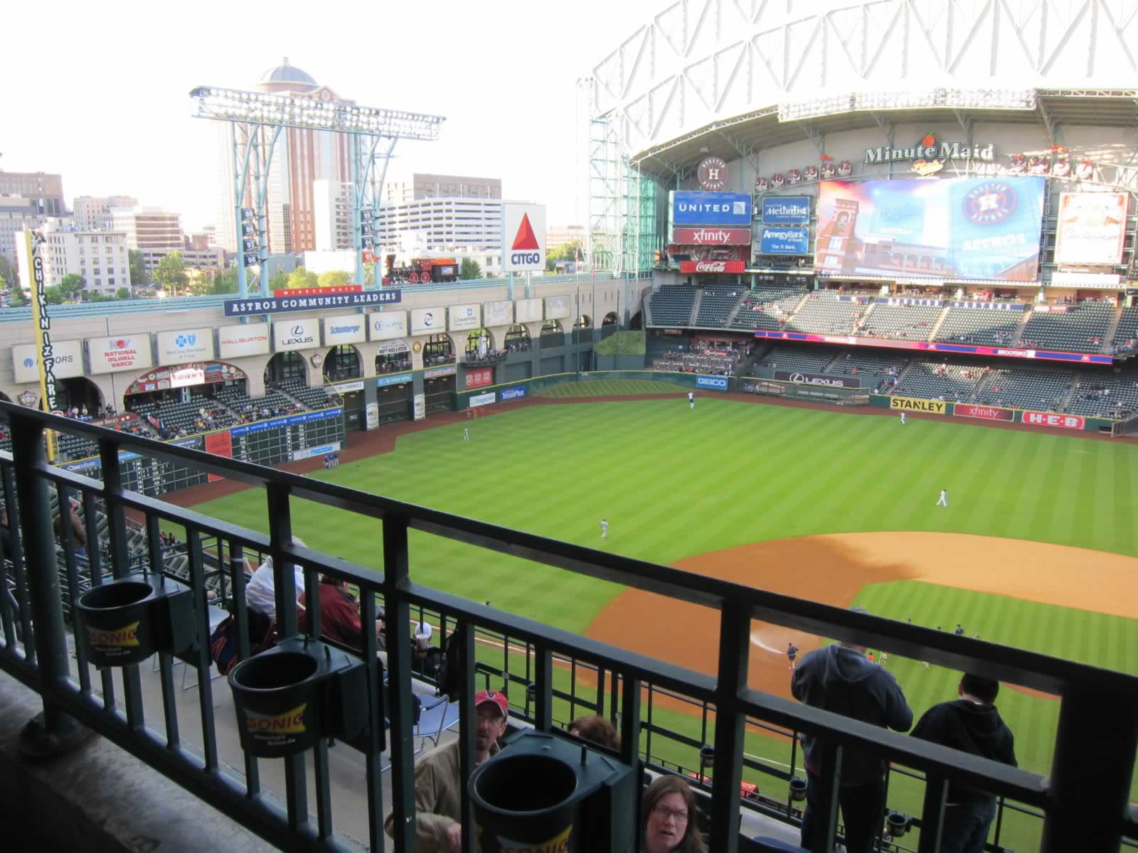 Minute Maid Park Section 414 Houston Astros