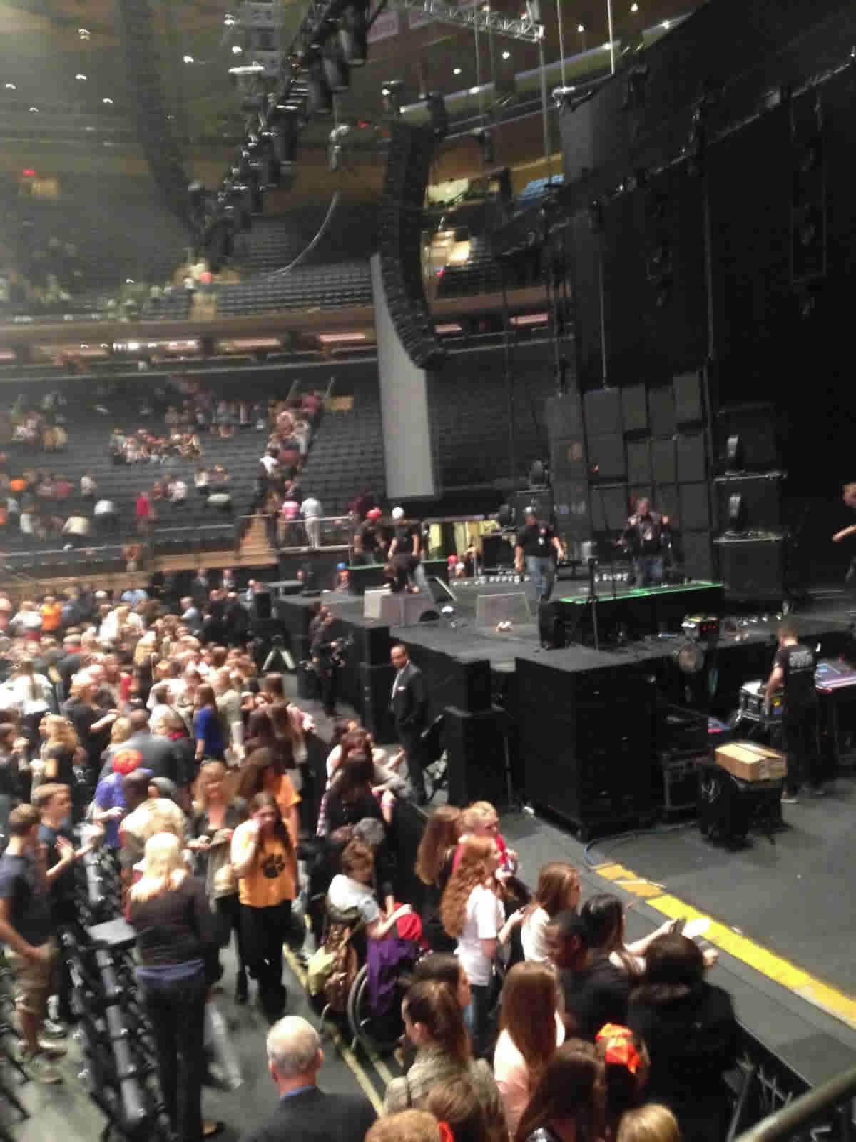 Madison Square Garden Section 109 Concert Seating