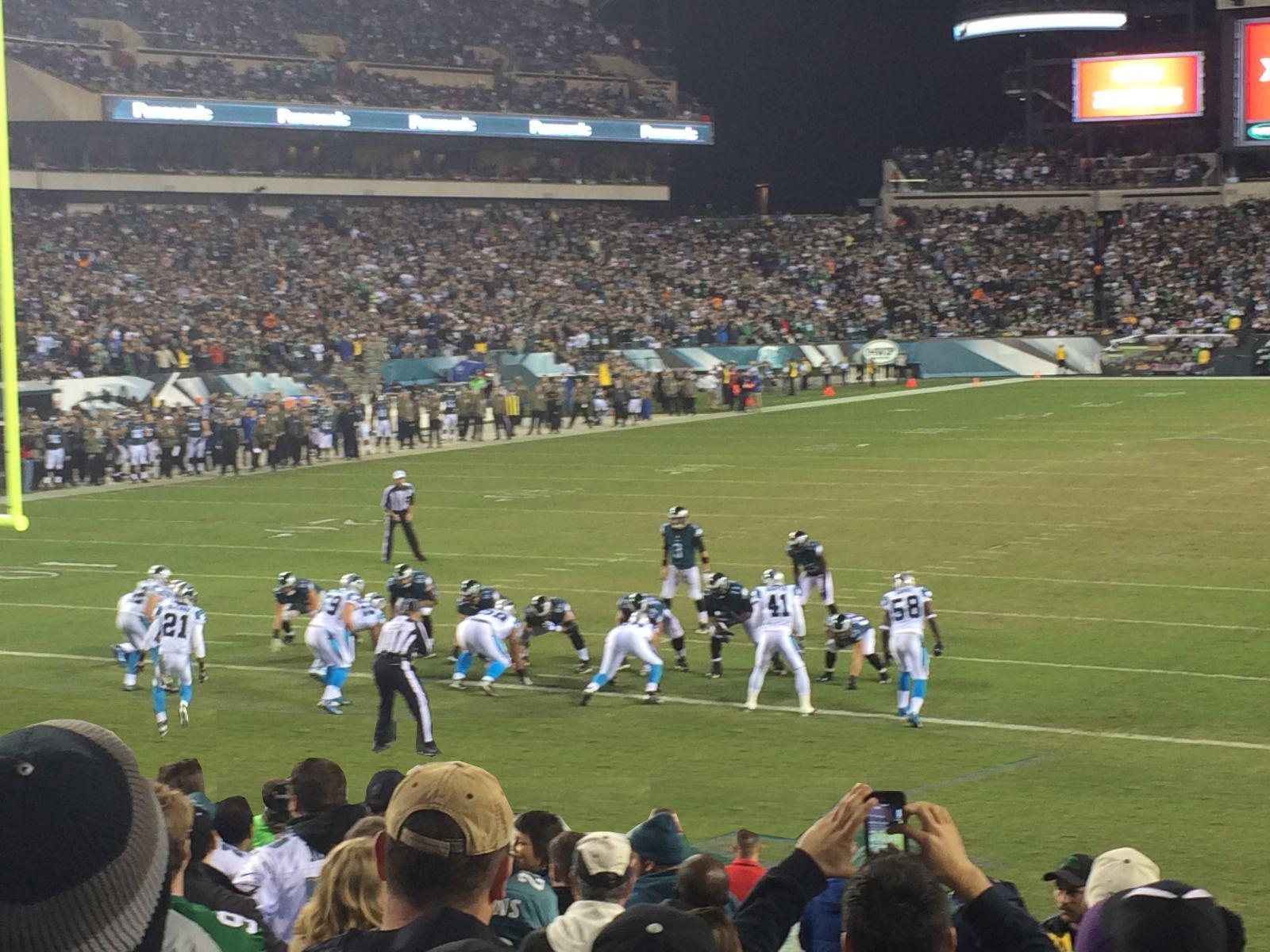 Lincoln Financial Field Section 112 Philadelphia Eagles
