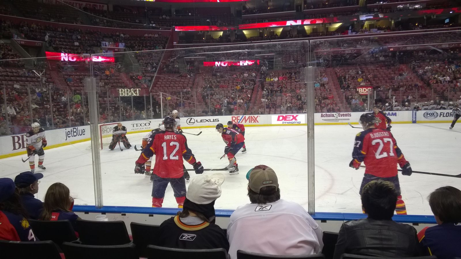Bb Amp T Center Section 120 Florida Panthers Rateyourseats Com