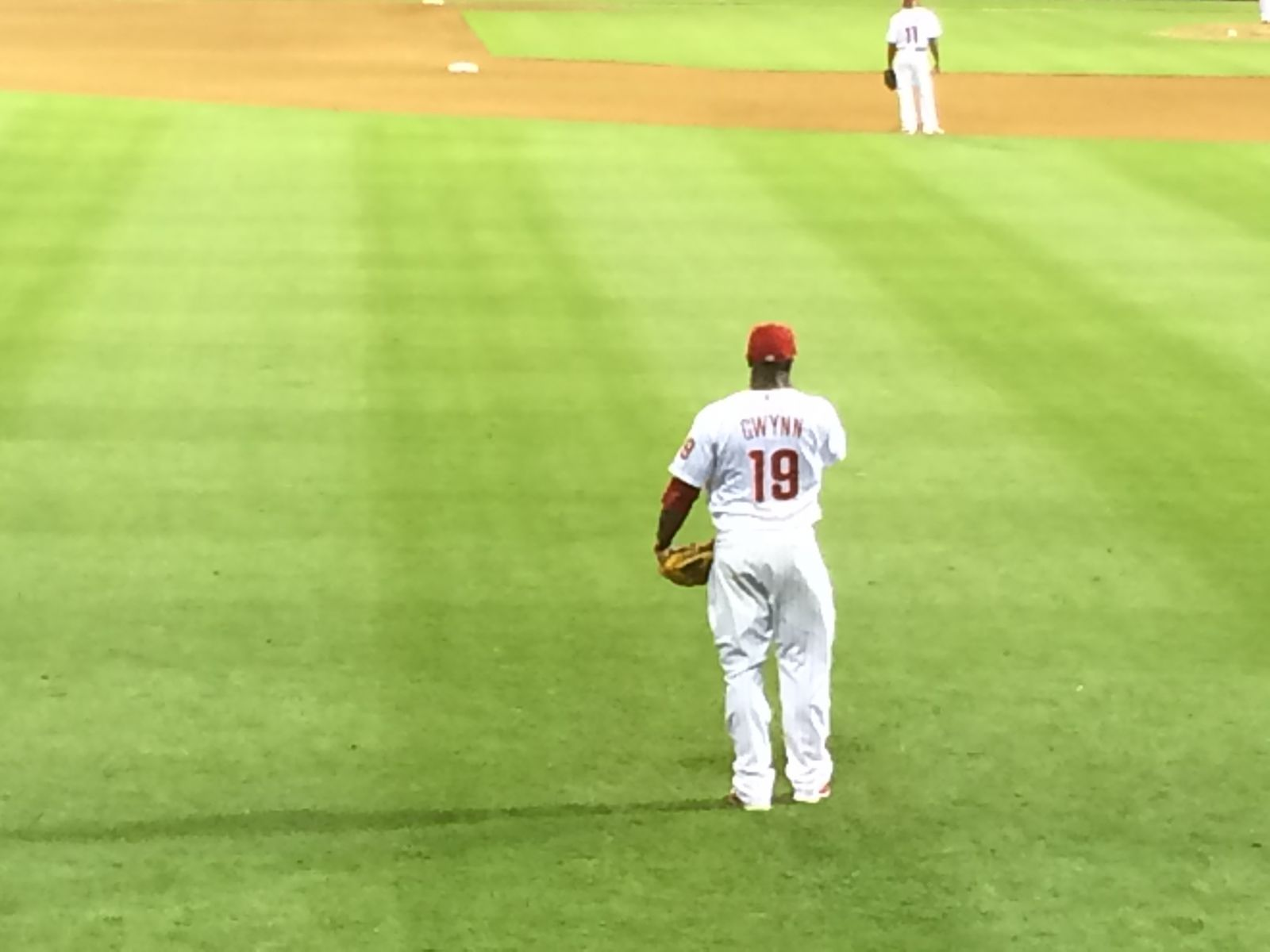 Row 1- On the Wall-HR Alley: Citizens Bank Park Section ...