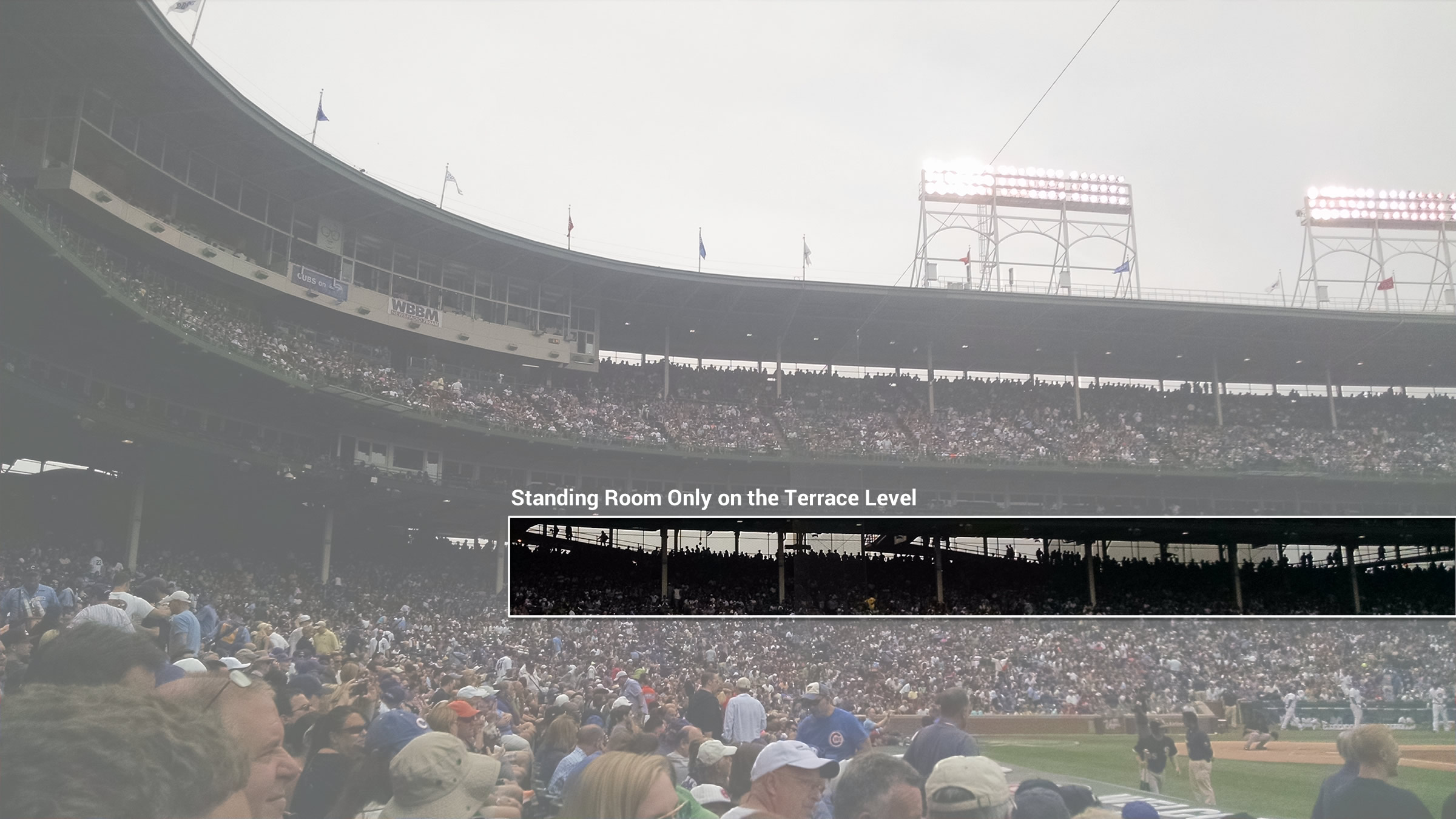 Wrigley Field Standing Room Only Chicago Cubs