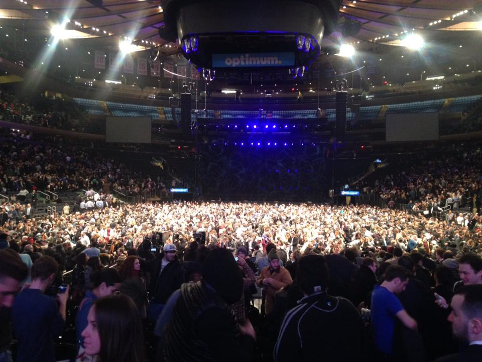 Madison square garden section 2 concert seating - Foo fighters madison square garden ...