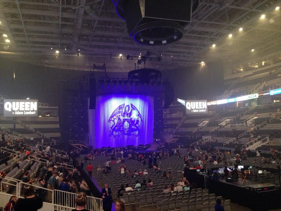 Sap Center Section 110 Concert Seating Rateyourseats Com