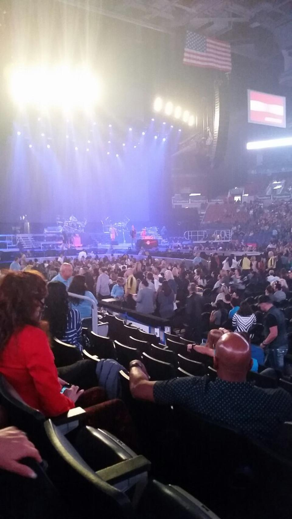 Scotiabank Arena Section 107 Concert Seating