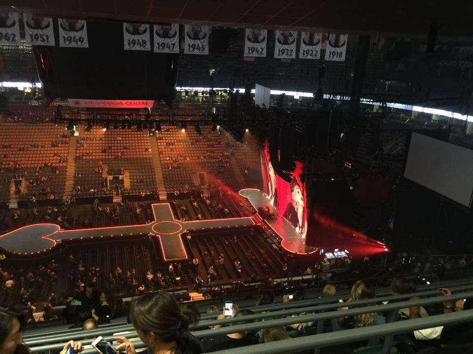 Scotiabank Arena Section 321 Concert Seating