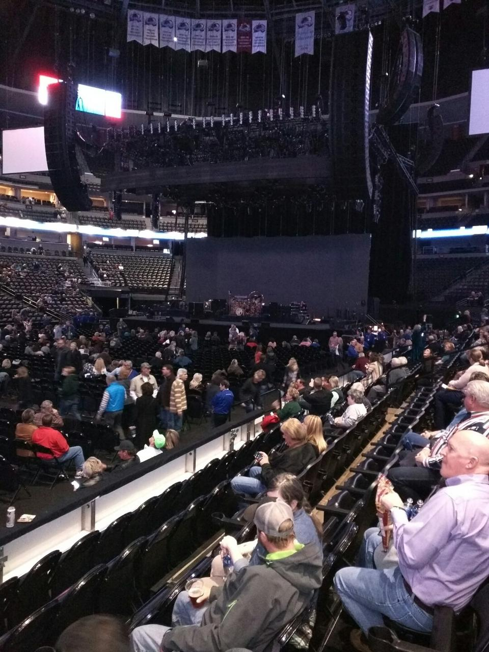 Pepsi Center Section 104 Concert Seating Rateyourseats Com