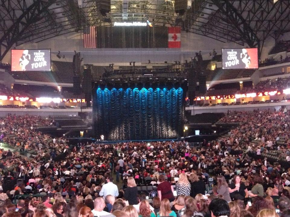 American Airlines Center Section 113 Concert Seating