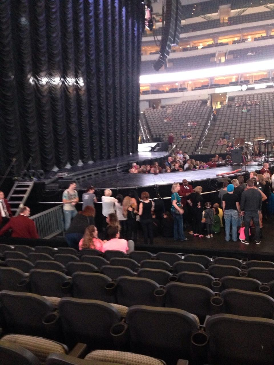 American Airlines Center Section 120 Concert Seating