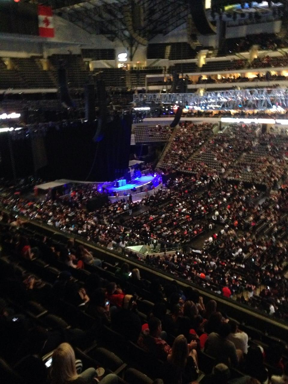 American Airlines Center Section 216 Concert Seating