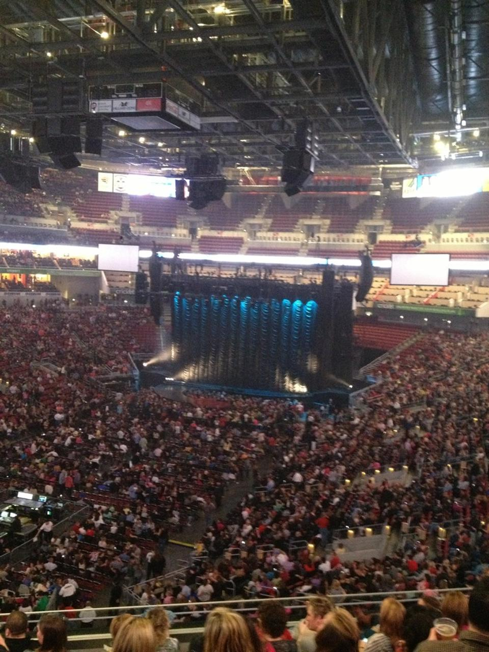 Kfc Yum Center Section 209 Concert Seating