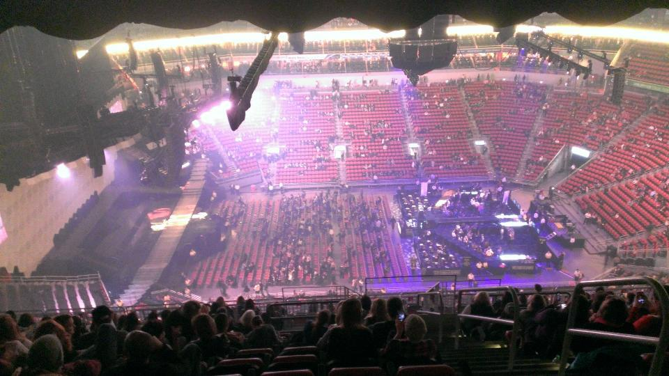 KFC Yum! Center Section 324 Concert Seating