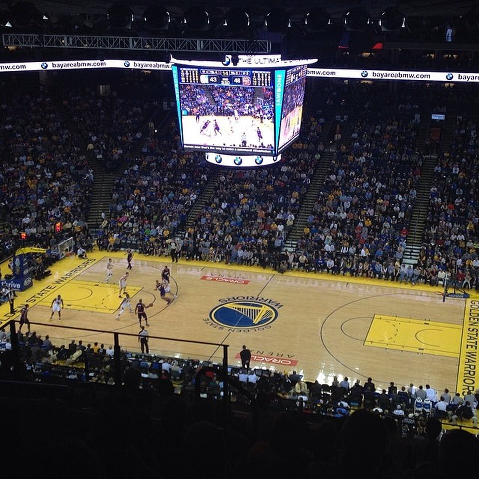 Golden State Warriors New Stadium: Oracle Arena Section 231