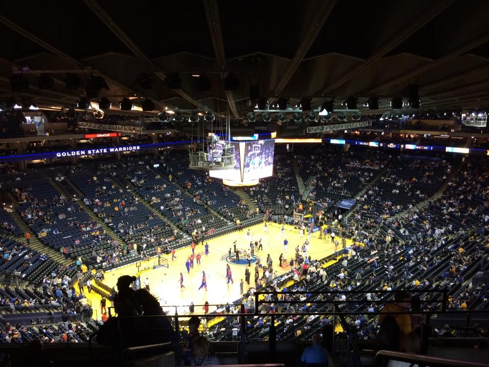 Oracle Arena Section 204 Golden State Warriors