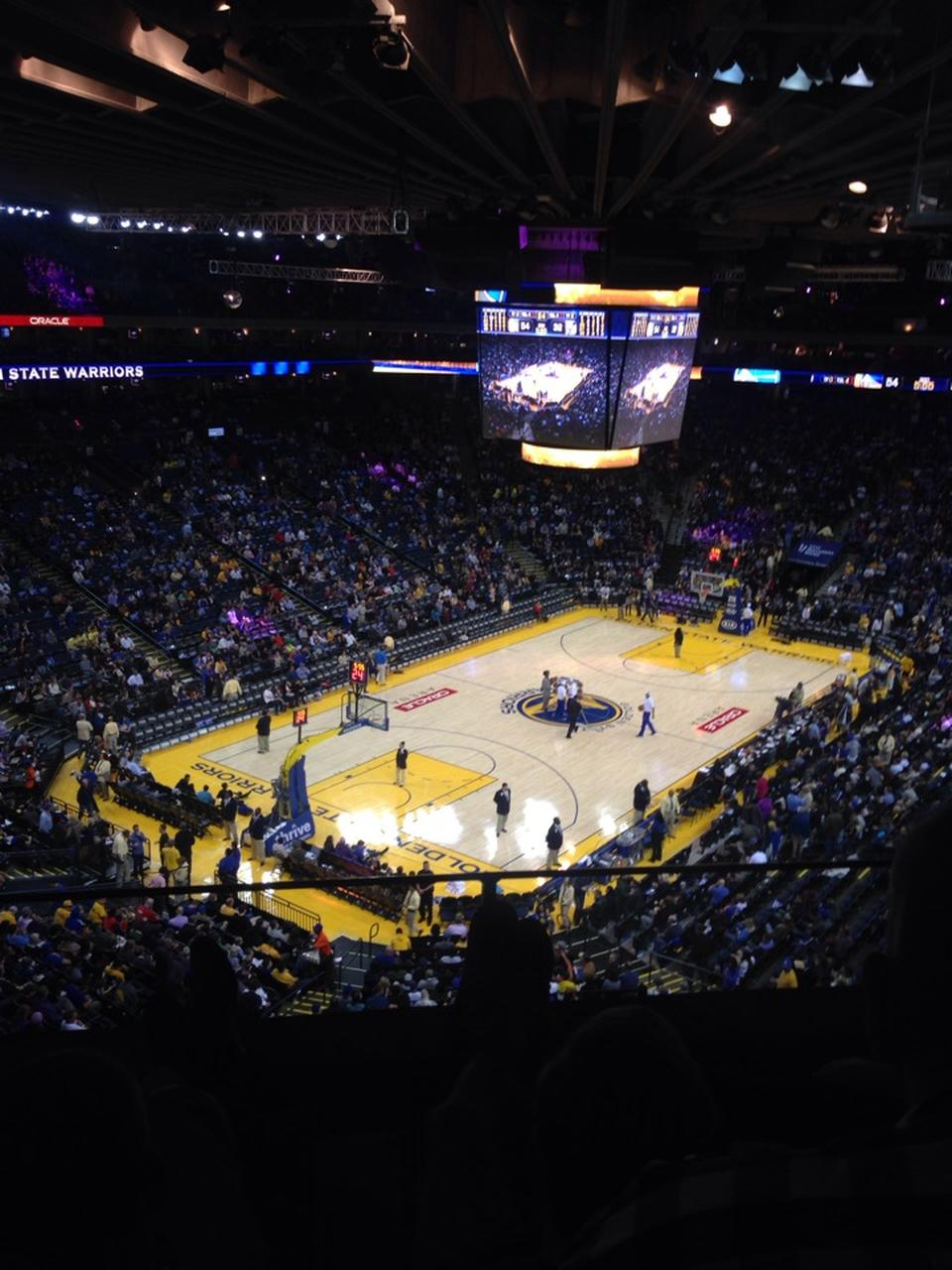 Oracle Arena Section 205 Golden State Warriors