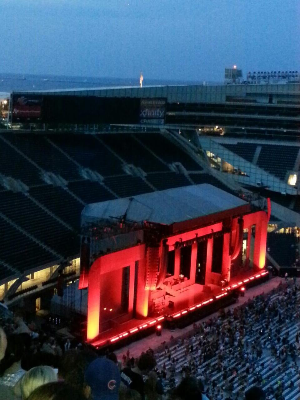 Soldier Field Section 438 Concert Seating Rateyourseats Com