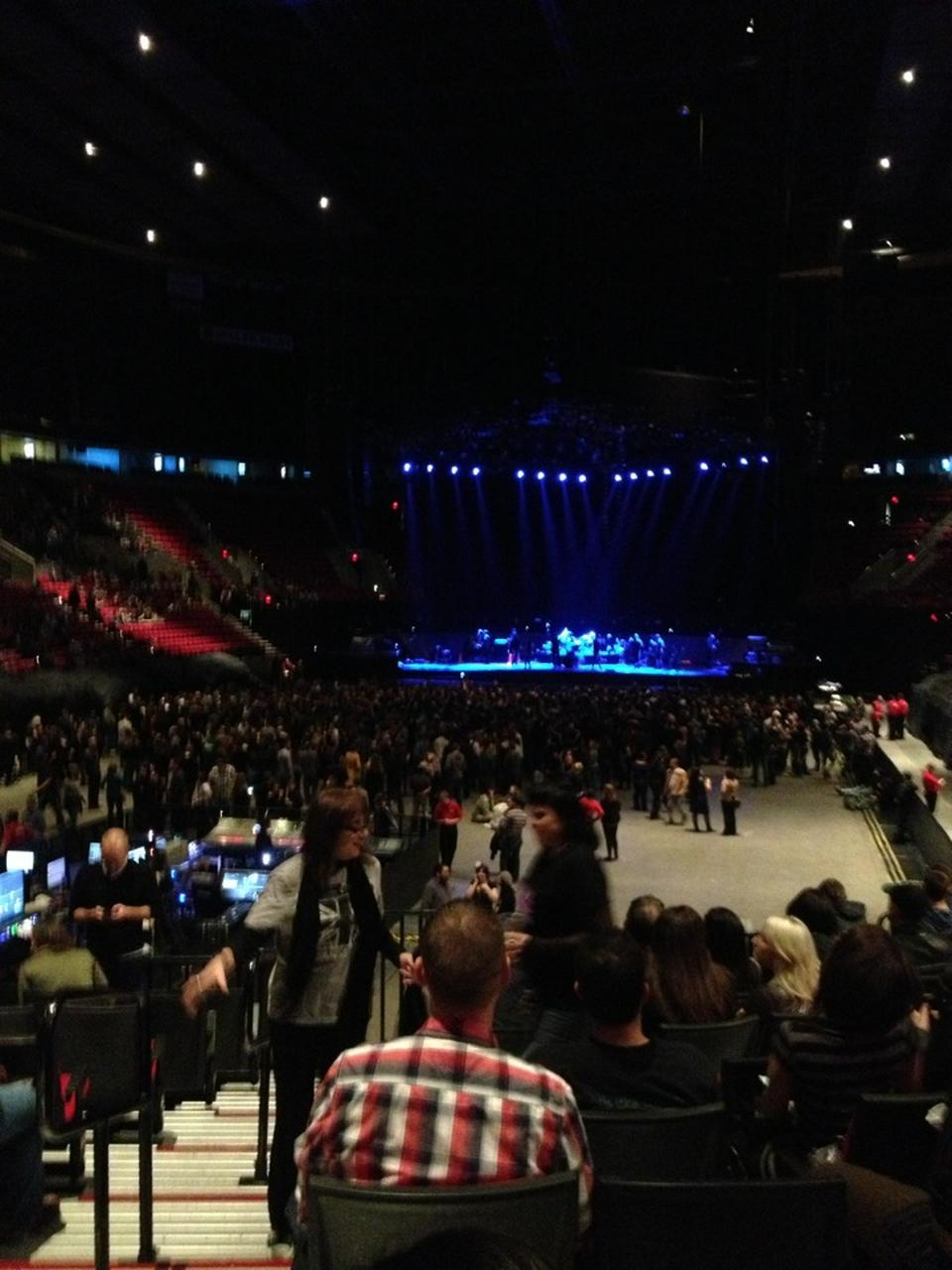 Moda Center Section 116 Concert Seating Rateyourseats Com