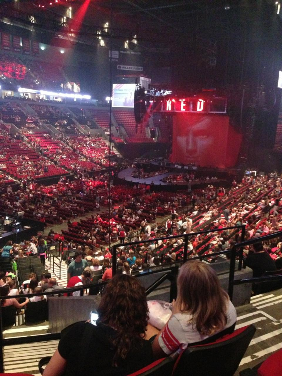 Moda Center Section 220 Concert Seating Rateyourseats Com