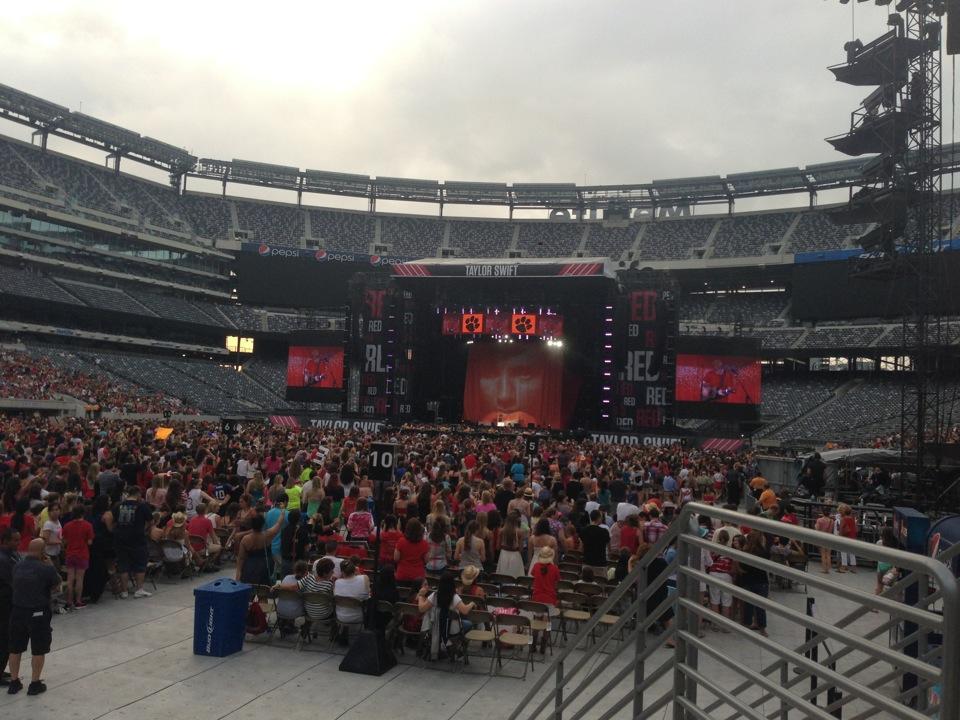 MetLife Stadium Section 121 Concert Seating ...