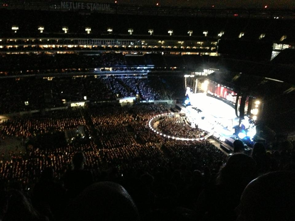 MetLife Stadium Section 315 Concert Seating ...