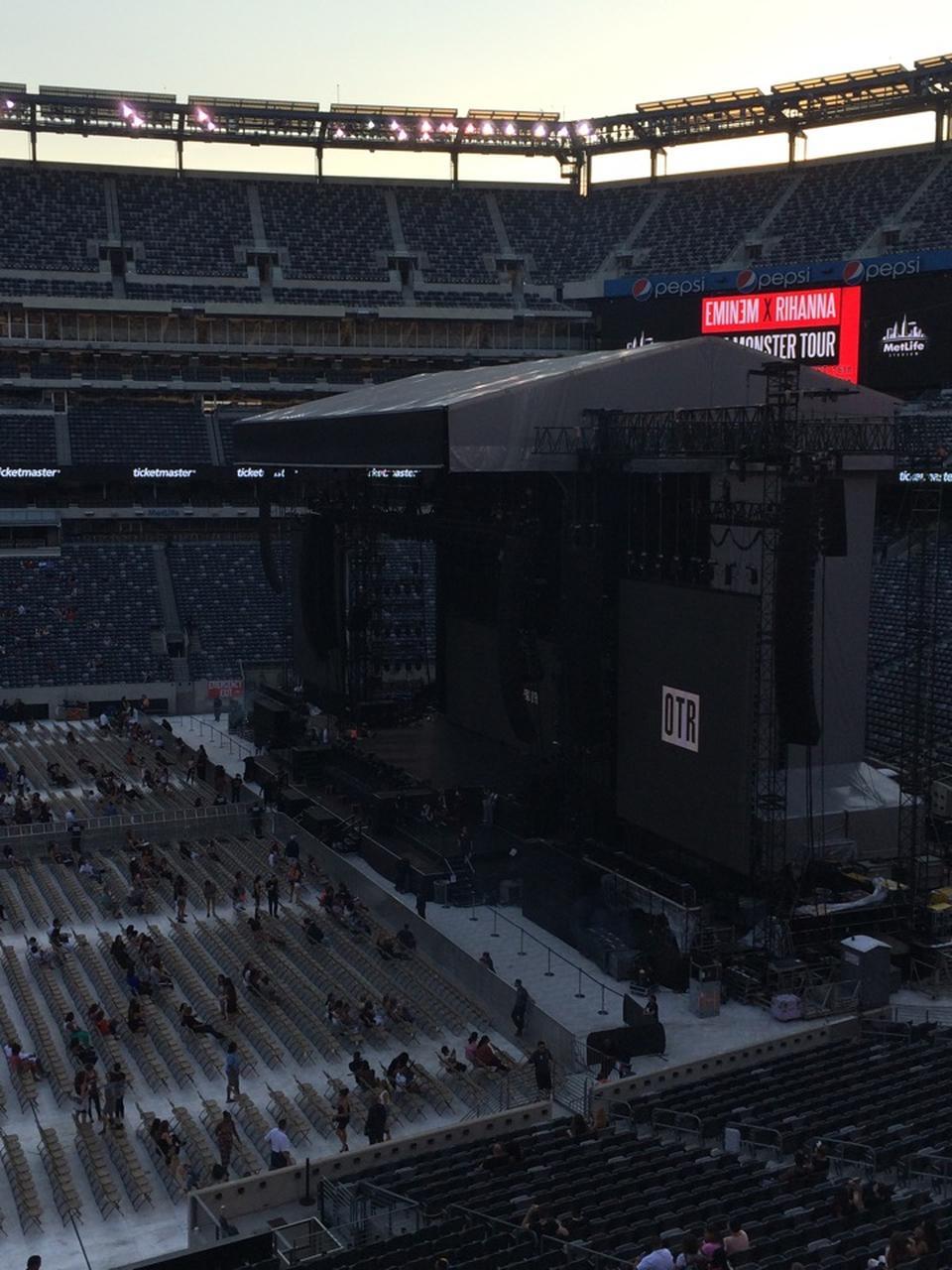 MetLife Stadium Section 212 Concert Seating ...