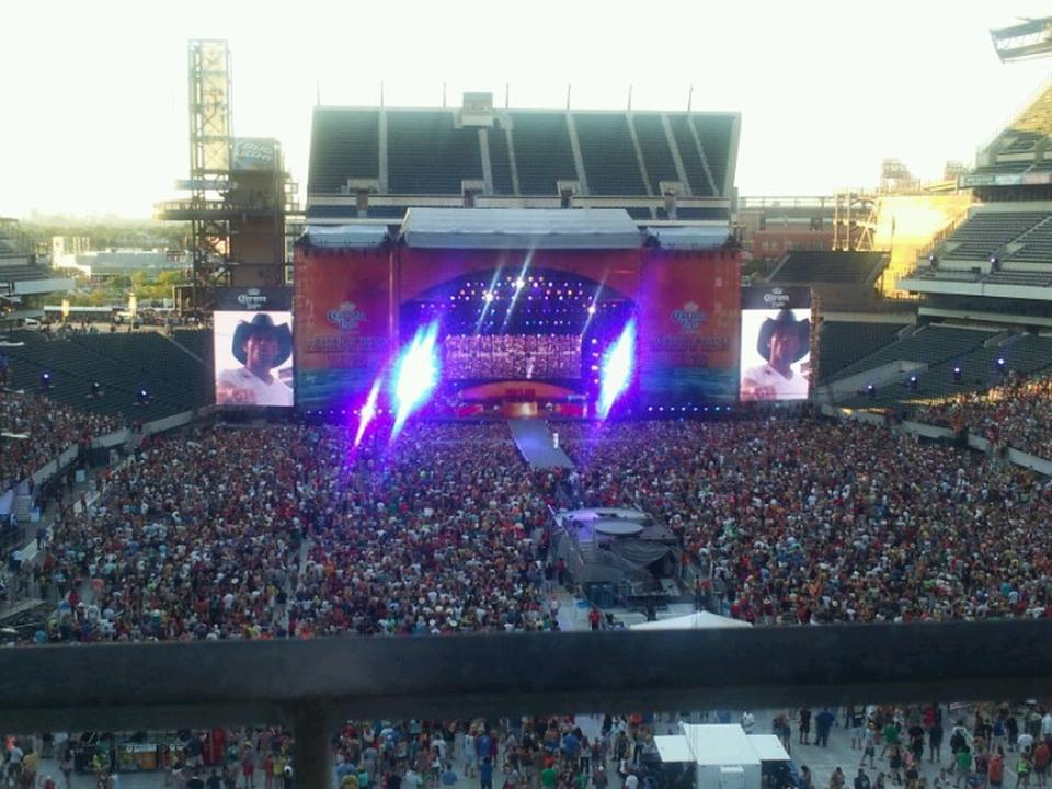 Lincoln Financial Field Section 211 Concert Seating
