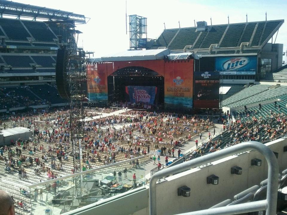 Lincoln Financial Field Section C16 Concert Seating
