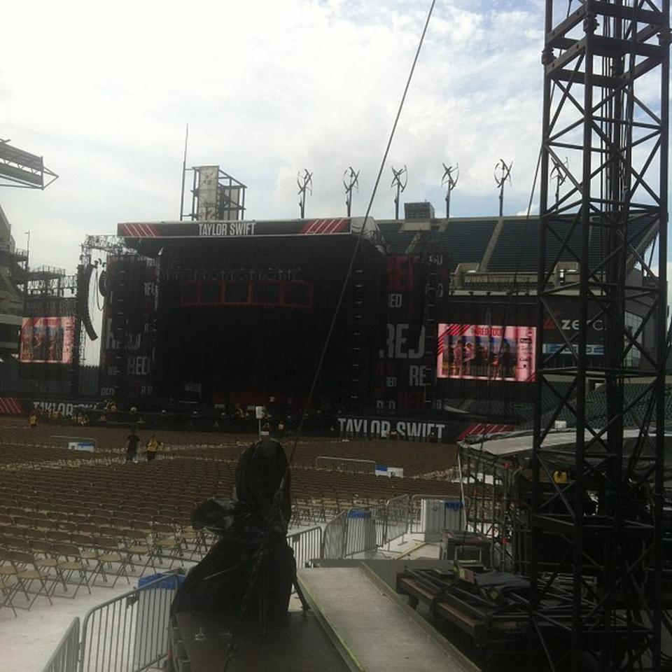 Lincoln Financial Field Section 115 Concert Seating