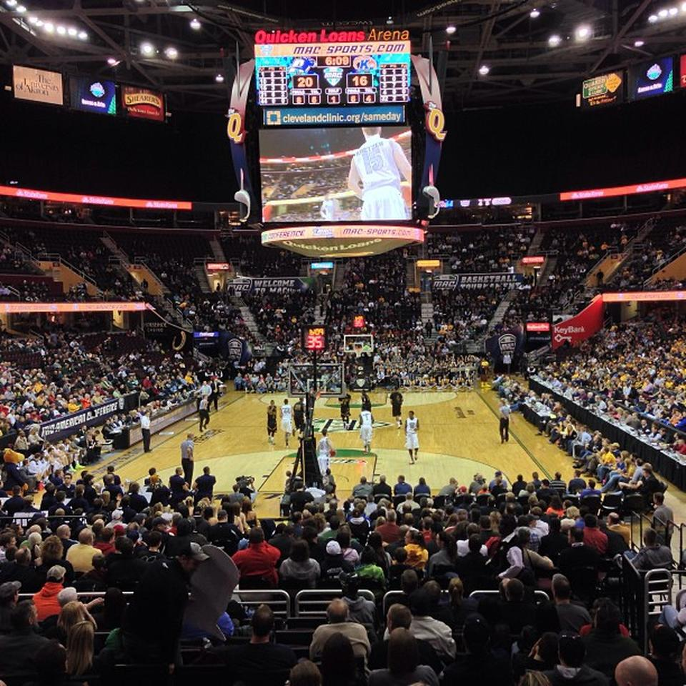 Quicken Loans Arena Section 100 Cleveland Cavaliers