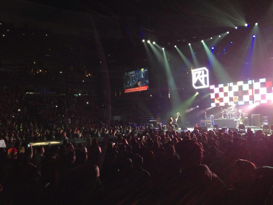 Honda Center Floor 101 Concert Seating Rateyourseats Com