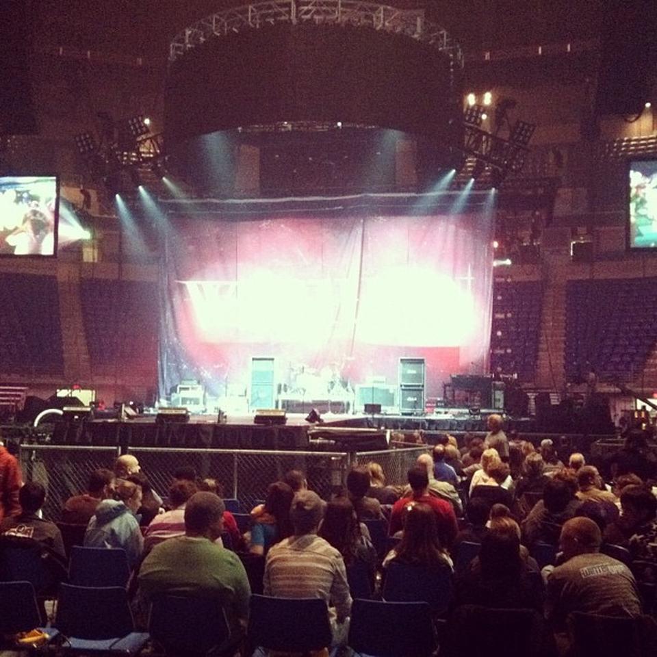 Bryce Jordan Center Floor N1 Concert Seating