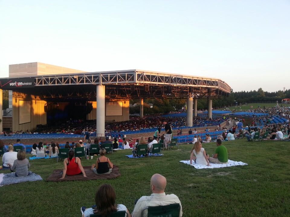Pnc Music Pavilion Section Lawn Rateyourseats Com
