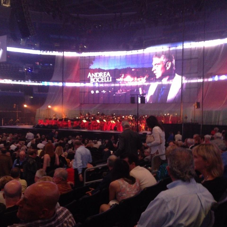 Amalie Arena Section 101 Concert Seating Rateyourseats Com