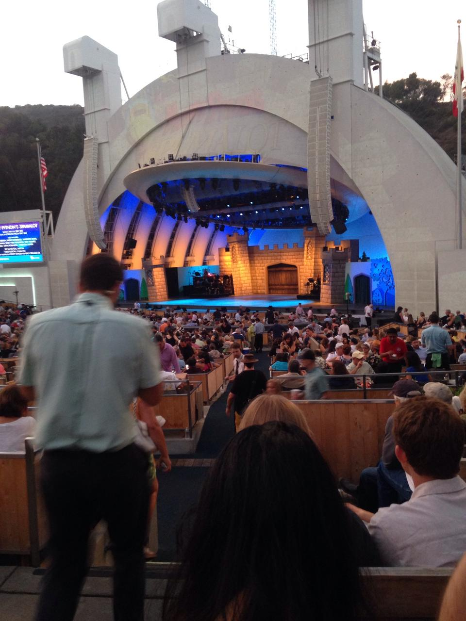 Hollywood bowl section d for Terrace 2 hollywood bowl