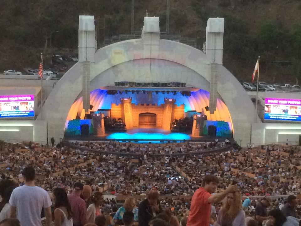 Hollywood Bowl Section M1 Rateyourseats Com