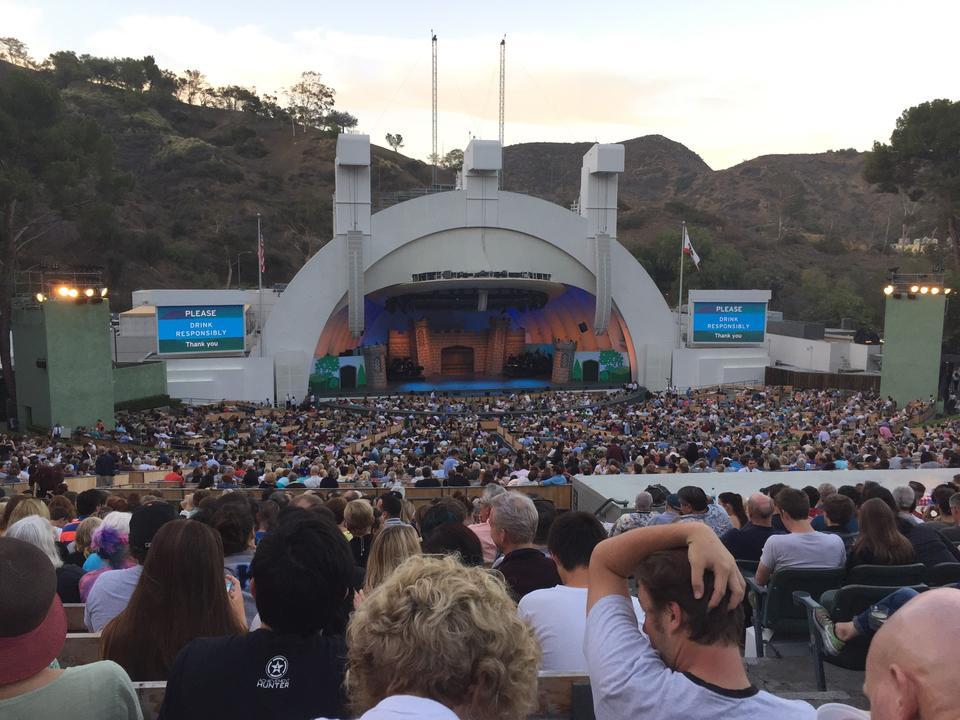 Promenade Iii Hollywood Bowl Concert Seating