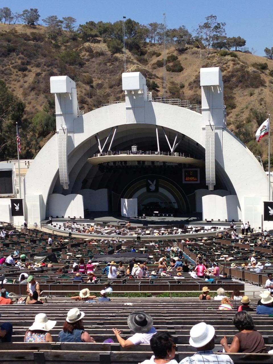 Best Buy Hollywood >> Hollywood Bowl Section G2 - RateYourSeats.com