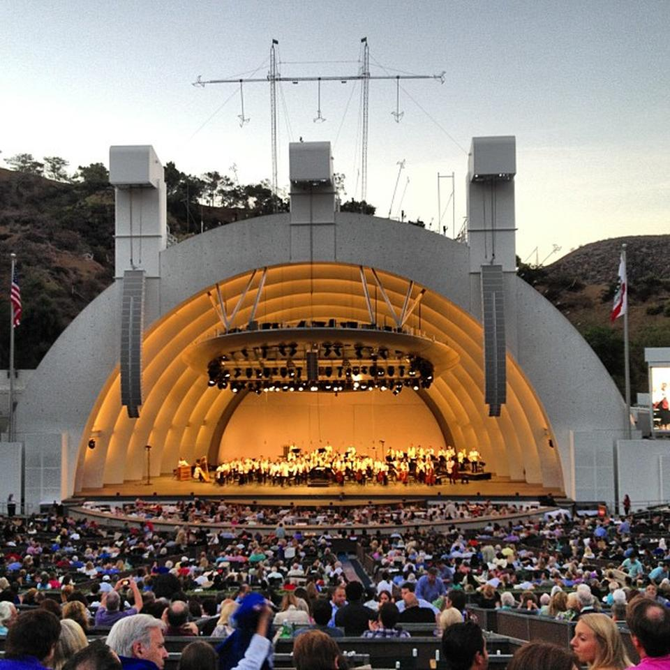 Hollywood Bowl Section H Rateyourseats Com