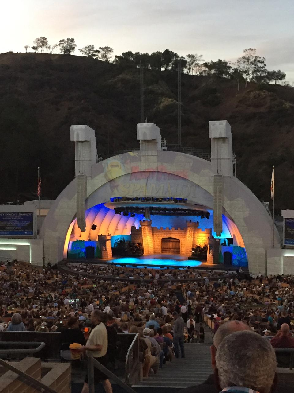 Hollywood Bowl Concerts >> Hollywood Bowl Section L1 - RateYourSeats.com