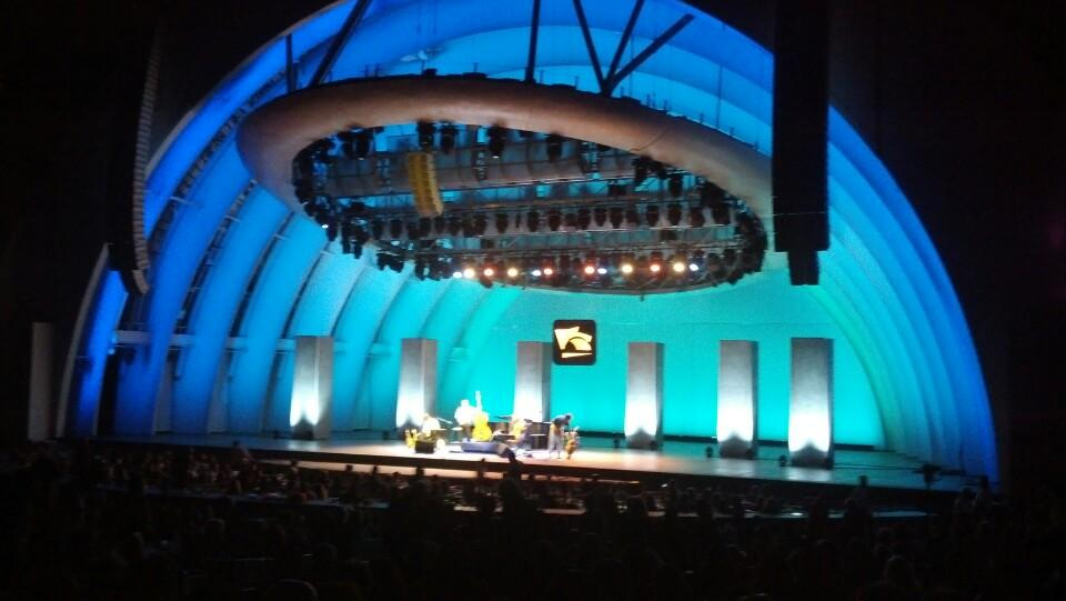 Garden Boxes Hollywood Bowl Concert Seating