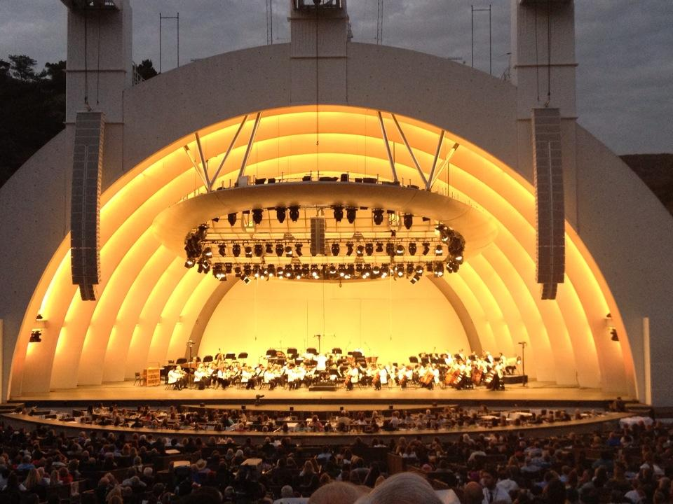 Hollywood Bowl Concerts >> Hollywood Bowl Section H - RateYourSeats.com