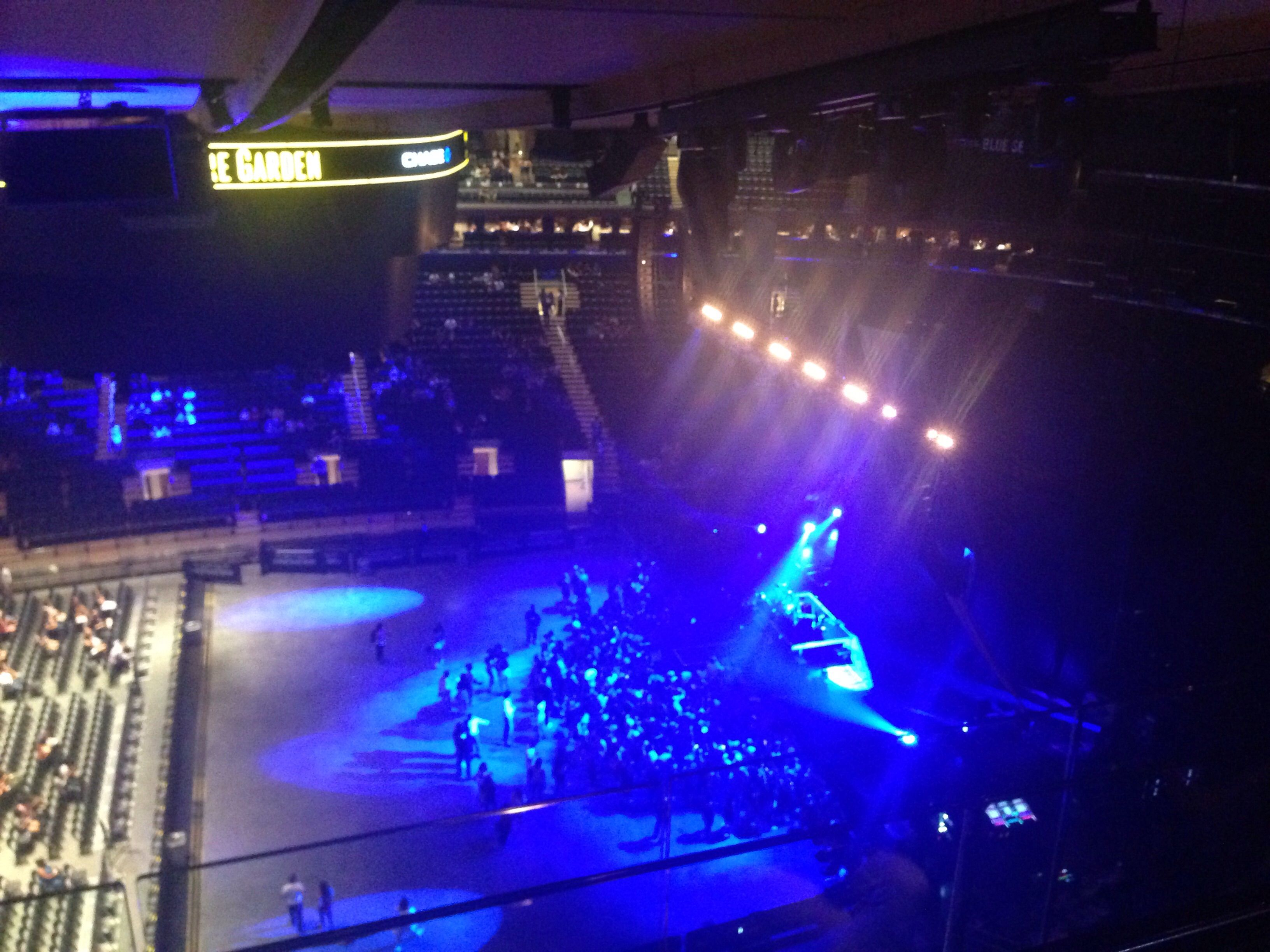 Totally Unique Experience Madison Square Garden Section